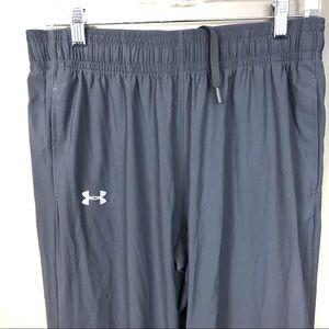 Under Armour Pants - Under Armour pregame warm-up gray pants m